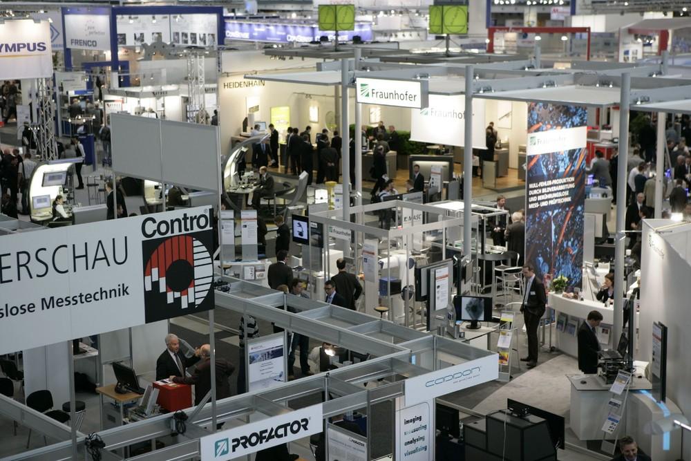 CONTROL in Stuttgart - Messegeschehen auf der CONTROL in Stuttgart.