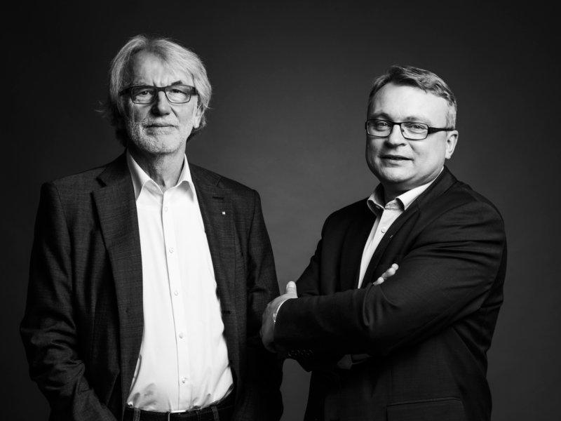 Michael Schinko, DI Gerhard Lengauer
