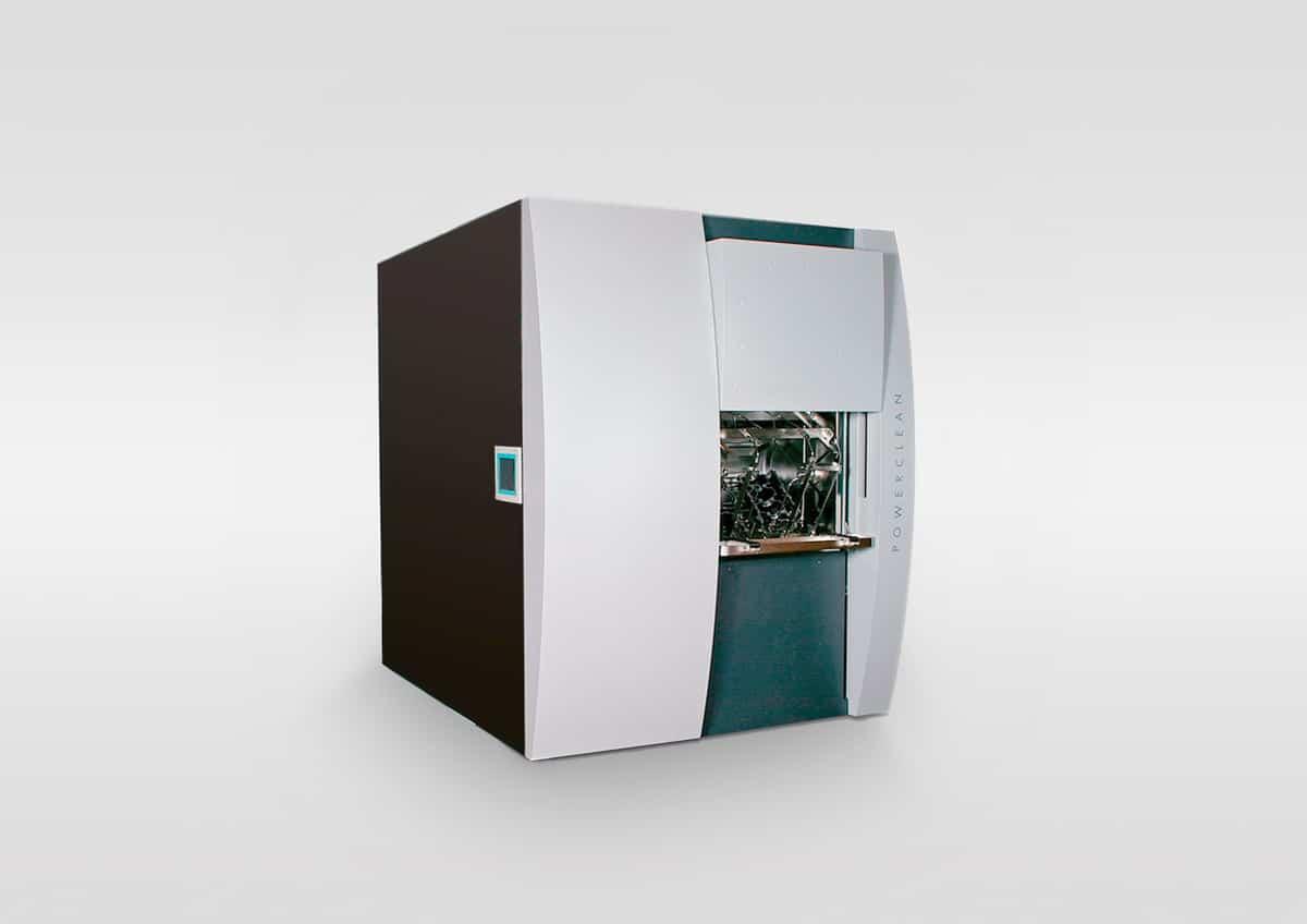 Industriewaschanlage - Industriewaschanlage mit Bedienfreundliche Hubtüre.