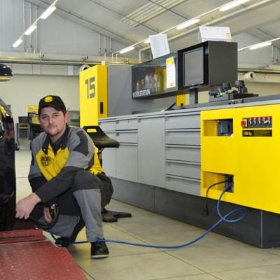 Die neuen ÖAMTC-Workstations - Die ÖAMTC-Workstations im Einsatz.