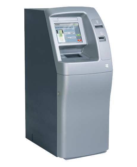 Bankomaten - Bankomaten in extrem robuster Bauweise für hohe Nutzungsfrequenz und Schutz gegen Vandalismus.