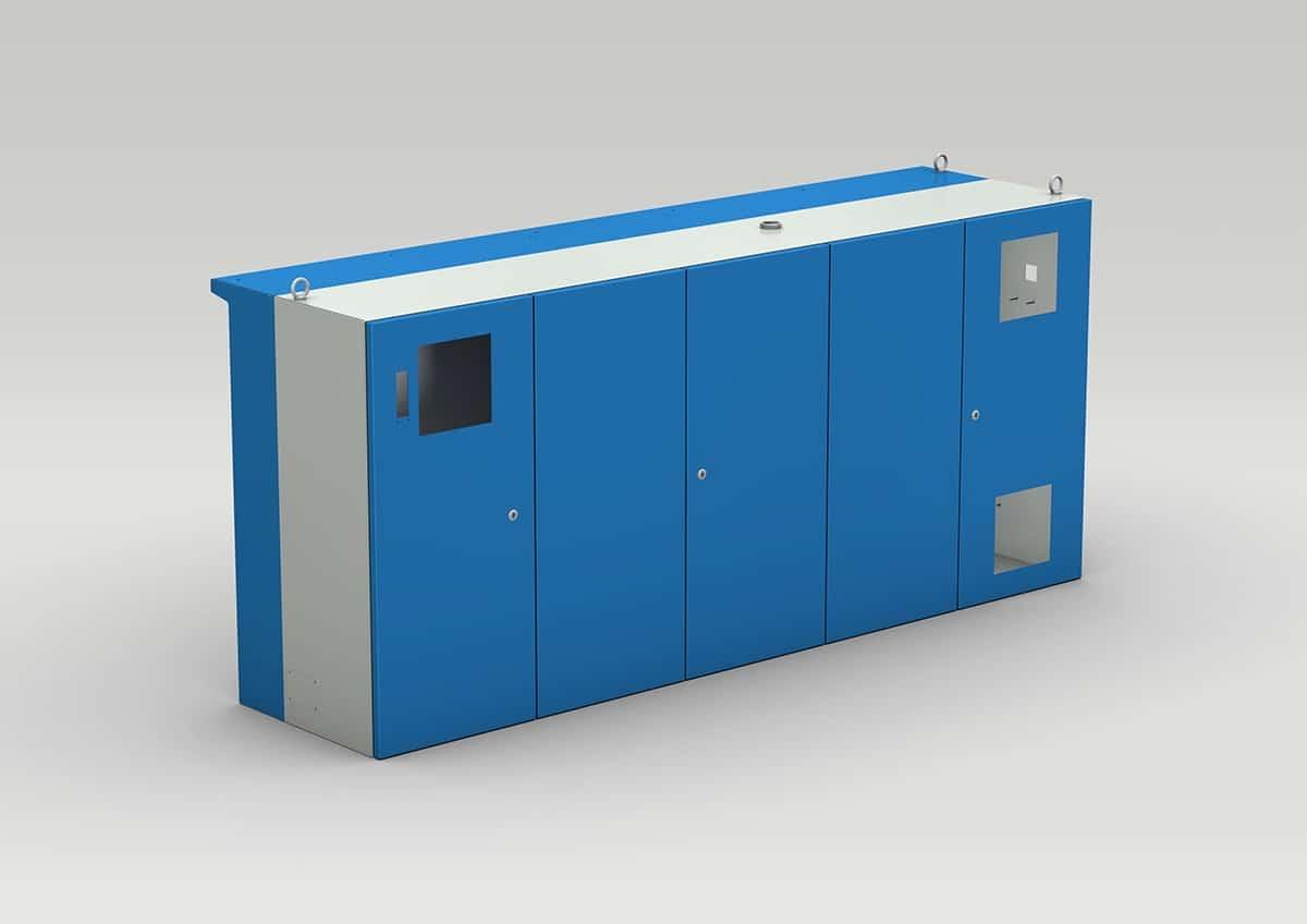 Schaltschrank für Werkzeugmaschinen / Drehmaschine - Schaltschrank für den direkten Anbau an die Drehmaschine oder Werkzeugmaschinen.