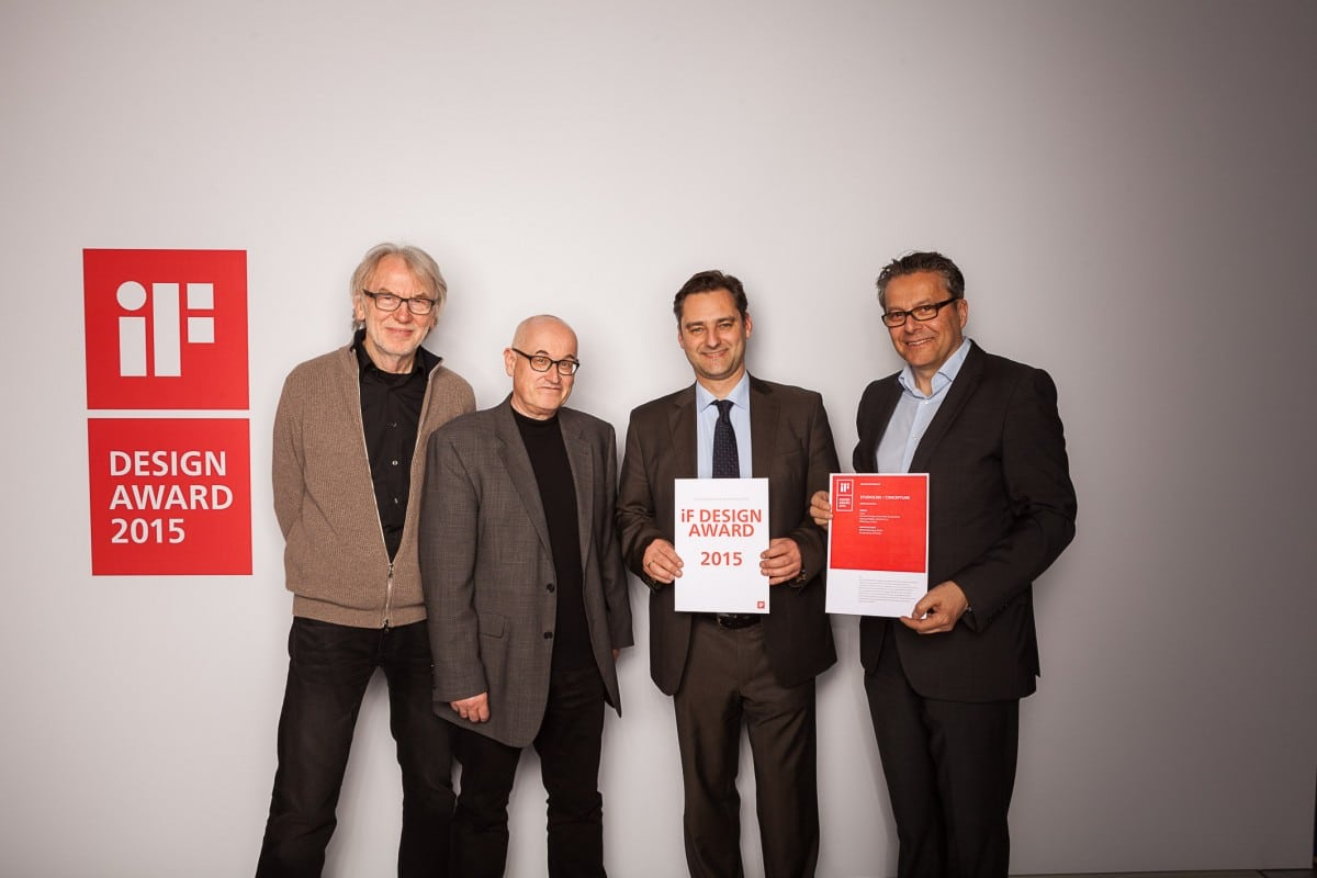 IF Design Award 2015 - Verleihung des IF Design Awards 2015.