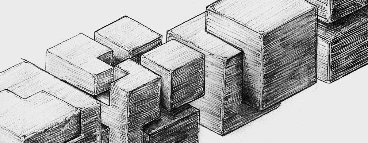 Ansicht aller 4 Schinko USPs Illustrationen