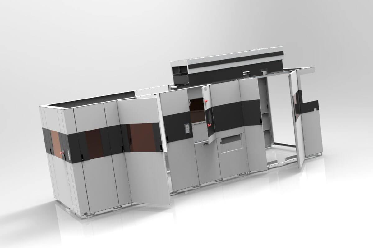 Großwaschanlagen für Getriebeteile - Großwaschanlagen für Getriebeteile