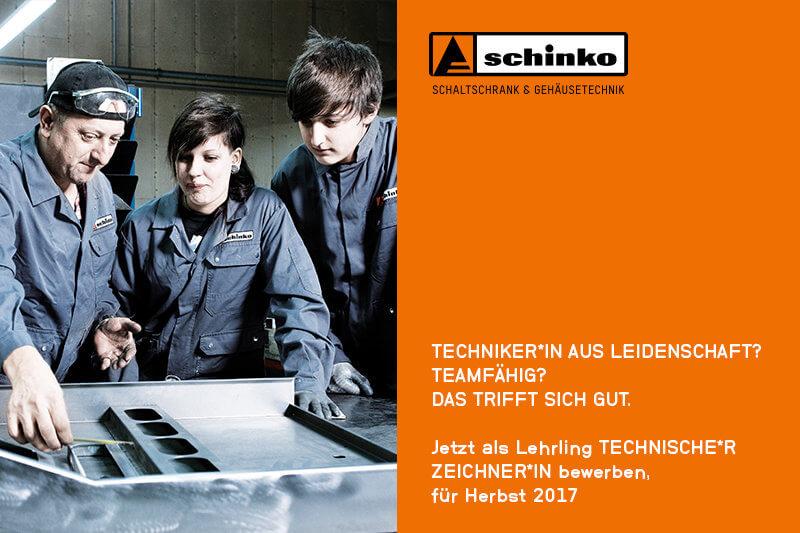 Lehrstelle bei Schinko als Technische*r Zeichne*rin