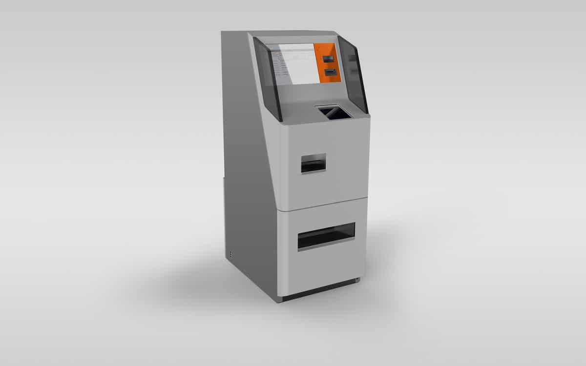 Bankomat / Münzeinzahlautomat -