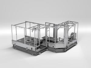 Streckblasmaschine in Rundlaufausführung