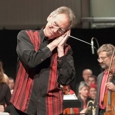 Kulturtag 2013 - Dirigent der Symphonischen Orchester der Musikschule Linz.