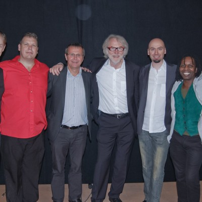 Schinko Kulturtage - Michael Schinko, Bürgermeister Christian Denkmaier und The Flying Pickets