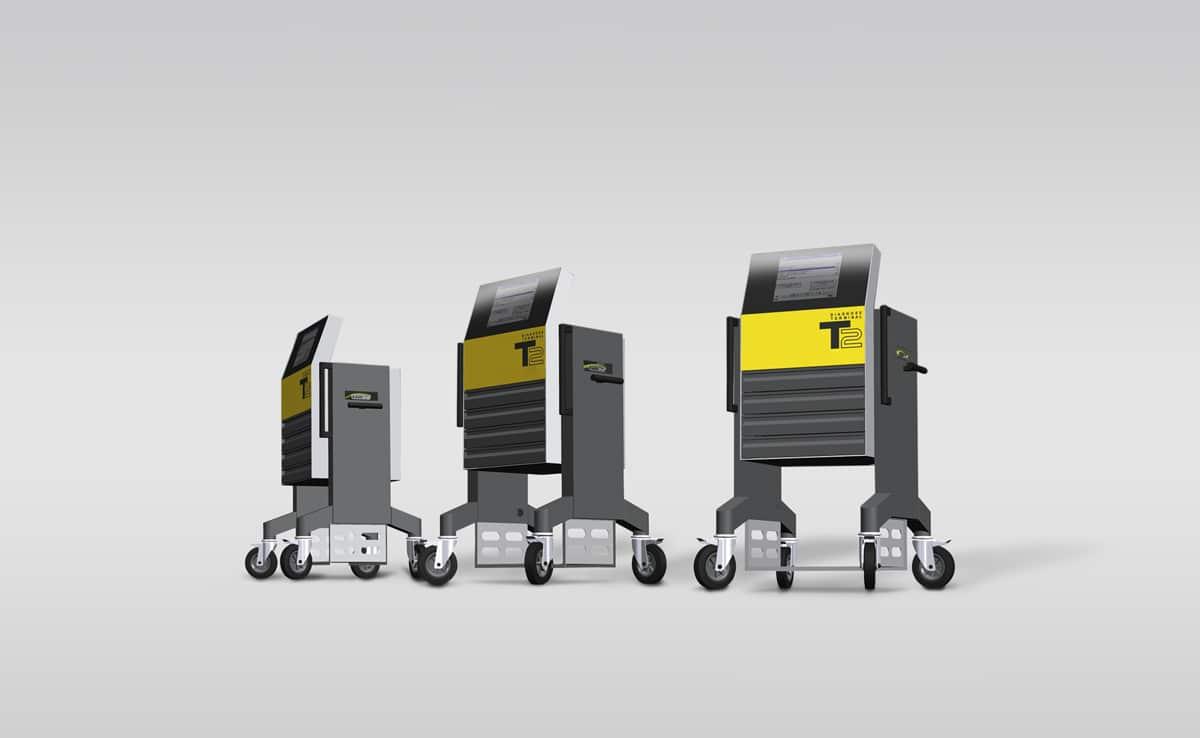 Mobiles Wartungsgerät - Das Mobiles Wartungsgerät ist eine ideale Kombination aus Steuerstand und Werkzeugschrank.