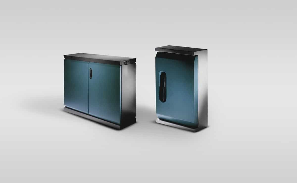 Schaltschrank Outdoor - Schaltschrank Outdoor: Extrem robust und dicht konstruiert und mit einer Spezialbeschichtung der gesamte Oberfläche und des Sockels dauerhaft gegen Korrosion geschützt, trotzt dieser Schaltschrank Regen, Wind, Hitze und Kälte.