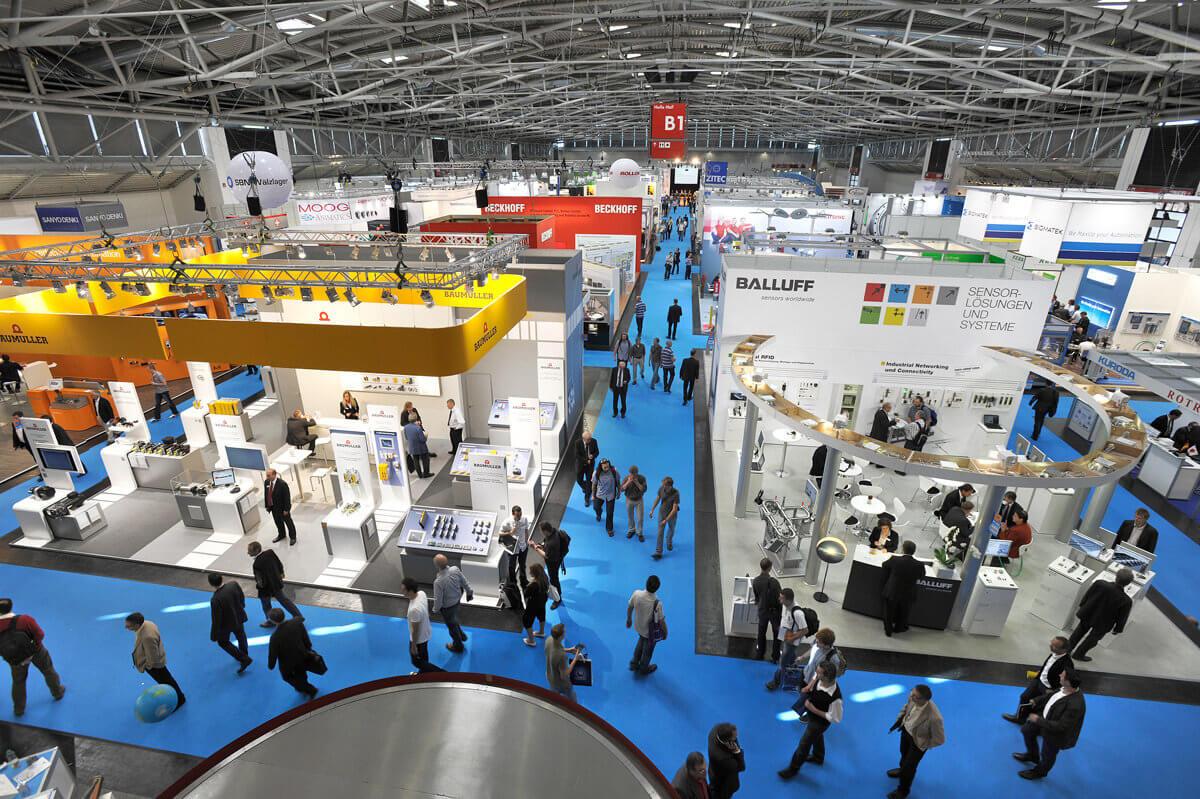 AUTOMATICA 2014 in München - Messegeschehen auf AUTOMATICA 2014 in München.