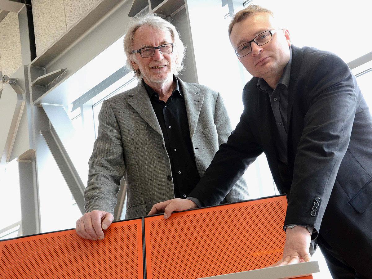 Umsatzplus bei Schinko - Die Leitung der Schinko GmbH: Michael Schinko und DI Gerhard Lengauer.