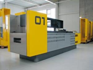 KFZ-Werkstatt Arbeitsstationen
