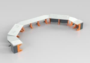Leitstelle Vario Pult System – individuell gestaltbar