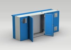 Schaltschrank für Werkzeugmaschinen / Drehmaschine