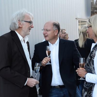 Schinko 25 Jahr Feier - Geschäftsführer Michael Schinko beim Empfang zum Festakt der 25 Jahr Feier der Firma Schinko.