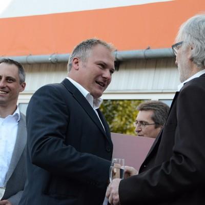 Schinko 25 Jahr Feier - Geschäftsführer Michael Schinko und Michael Hagel bei der 25 Jahr Feier der Firma Schinko.