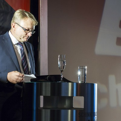 Schinko 25 Jahr Feier - Ansprache von Geschäftsführer Gerhard Lengauer beim Festakt zur 25 Jahr Feier.