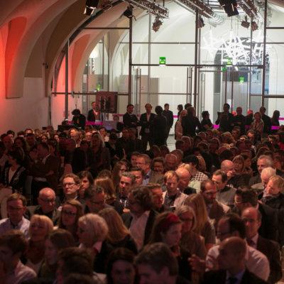 Staatspreis Design 2015 - Publikums Impressionen von der Verleihung des Staatspreis für Design 2015.