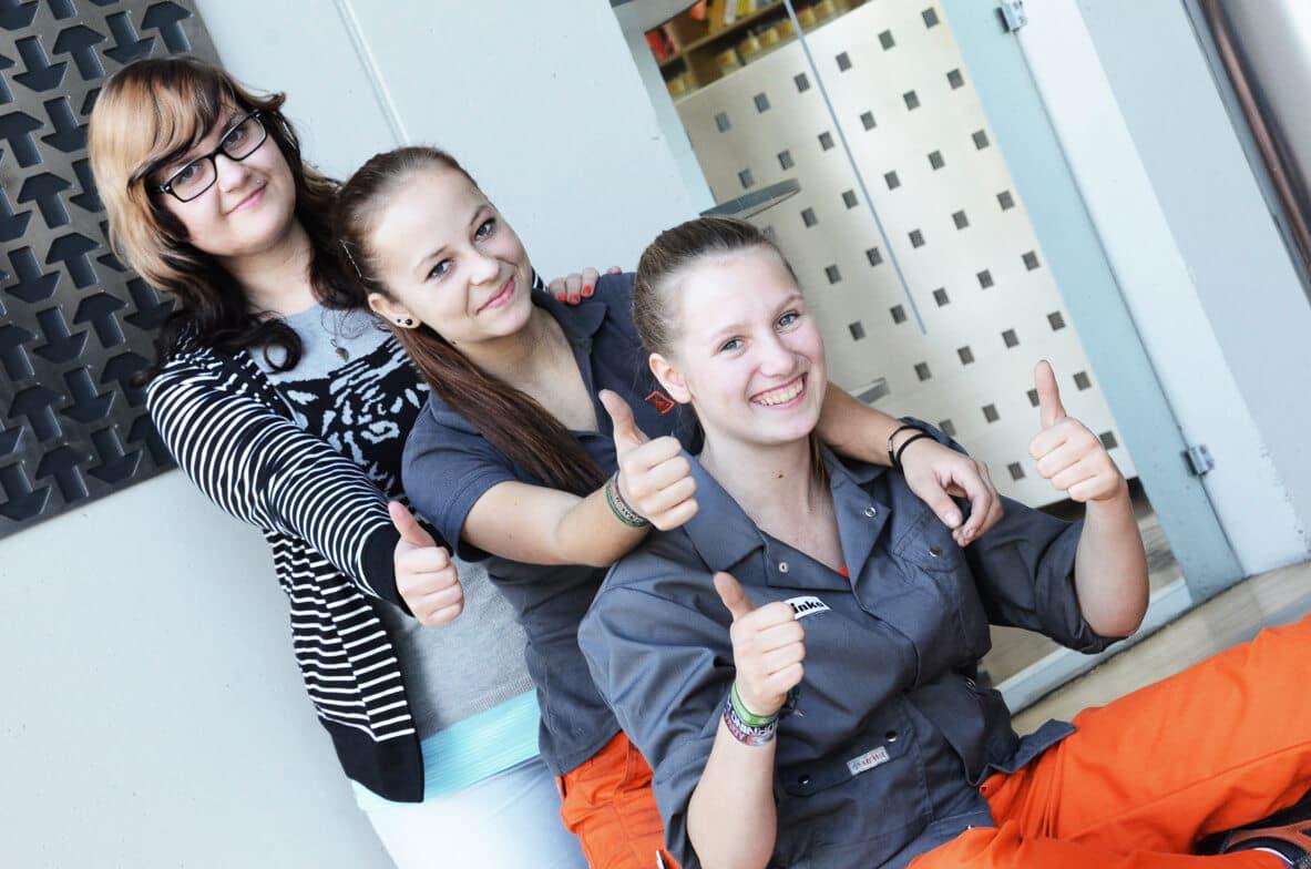 Frauenpower - Melanie Winkler, Kerstin Wansch, Melanie Kastler | © ghm hofbauer