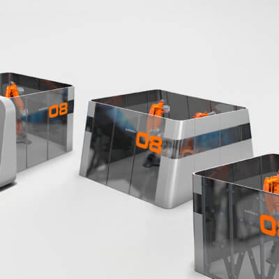 Schinko IDUKK Roboterzellen - Verschiedene Varianten von Schinko Roboterzellen
