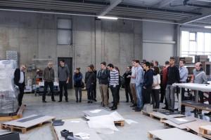 Industriedesignführung bei Schinko für Studierende von Industrial Design scionic®