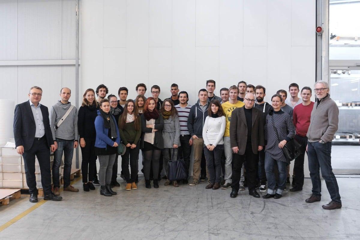 Industriedesignführung bei Schinko für Studierende von Industrial Design scionic® - Industriedesignführung bei Schinko für Studierende von Industrial Design scionic®