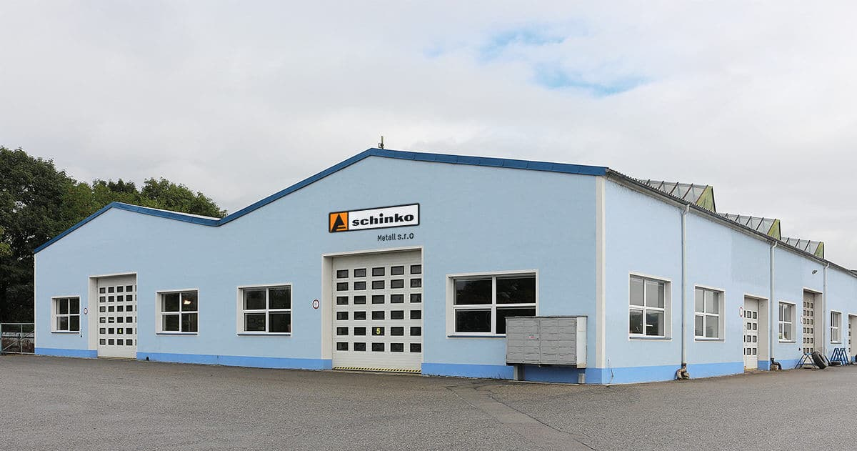 Gebäude Schinko Metall s.r.o.