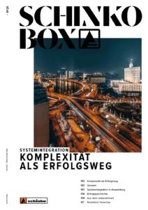 """Titelbild der Schinko Box Nr. 25 """"KOMPLEXITÄT ALS ERFOLGSWEG"""""""