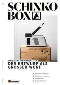 Titelbild der Schinko Box Nr. 27 –Umsetzung Industrie Design