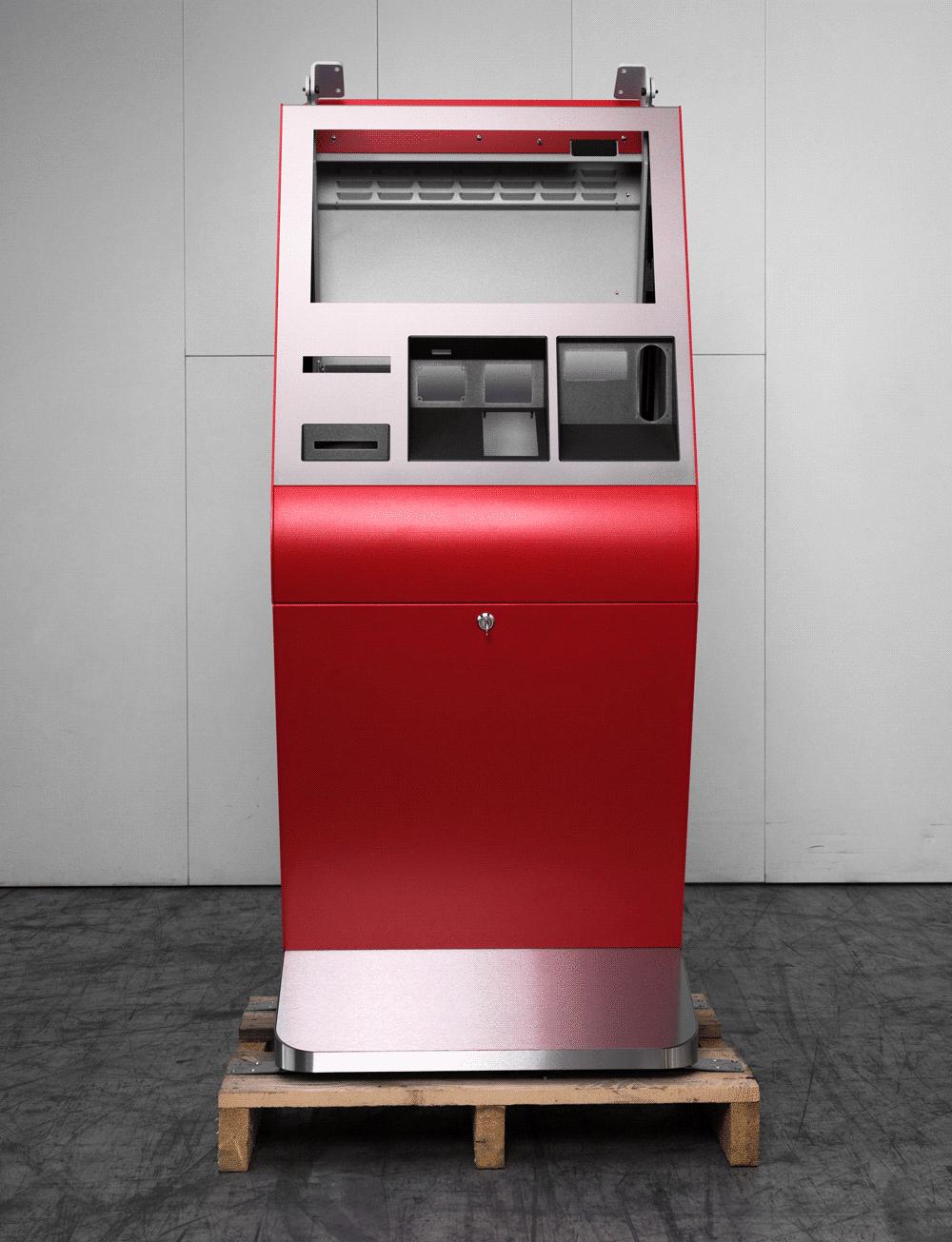 - Rotes Lotto Terminal © Jürgen Grünwald