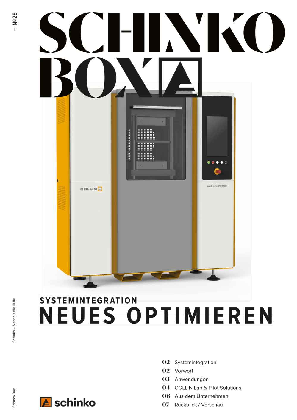 Schinko Box Nr. 28 Systemintegration – Neues optimieren - Schinko Box Nr. 28 Systemintegration – Neues optimieren