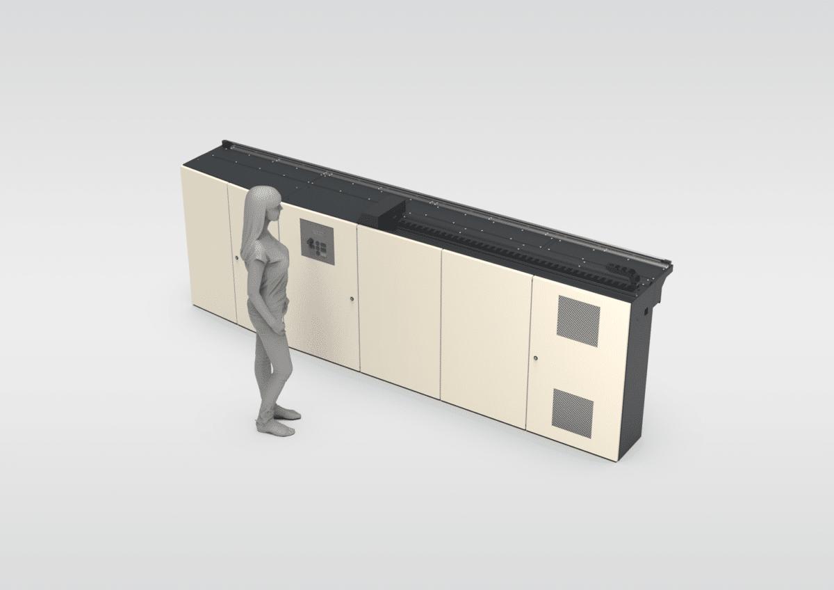 Schinko Spezialschaltschrank Drehmaschine - Direkt angebaut.