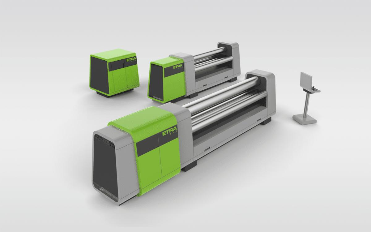 Rollmaschine für Grobbleche - Einfachst zu montieren und servicieren.