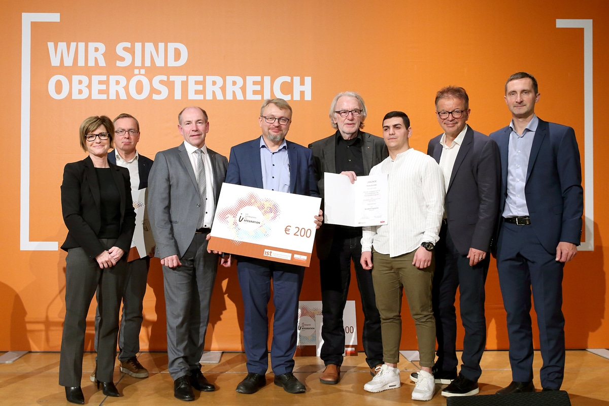 Oberösterreichischer Landespreis für Integration - Quelle: Land Oberösterreich; Fotografin: Sabrina Liedl