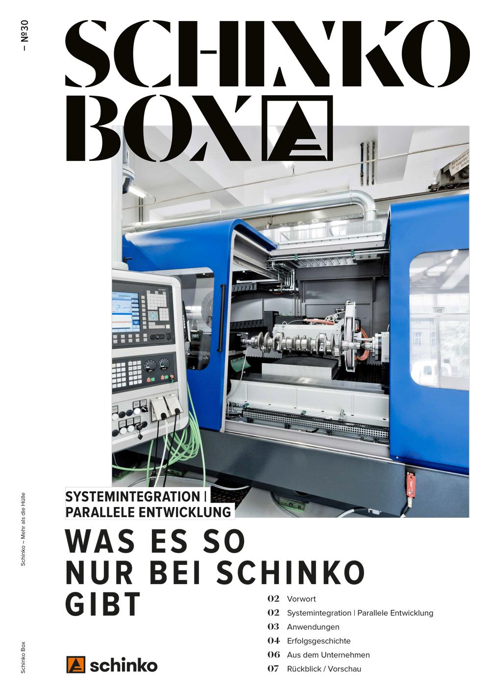 - Schinko Box Nr. 30 Systemintegration   Parallele Entwicklung