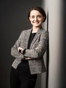 Nina Holzer, Leiterin des Supply Chain Managements