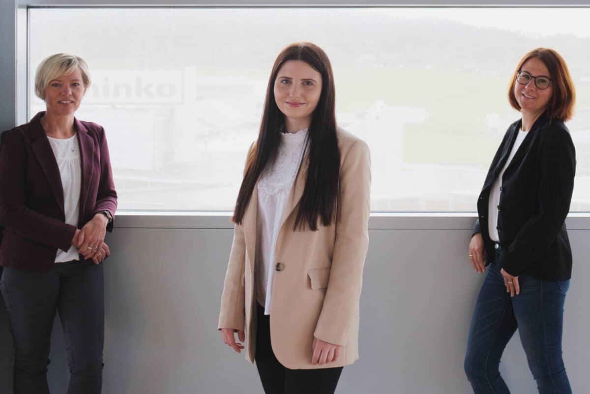 Team Buchhaltung und Lohnverrechnung - Andrea Affenzeller, Annabel Maier, Andrea Altkind und Teuta Kofler  (nicht im Bild)